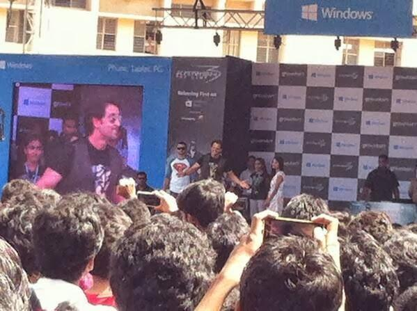 Hrithik Launches The Krrish 3 Game In Bangalore Dayanand Sagar College