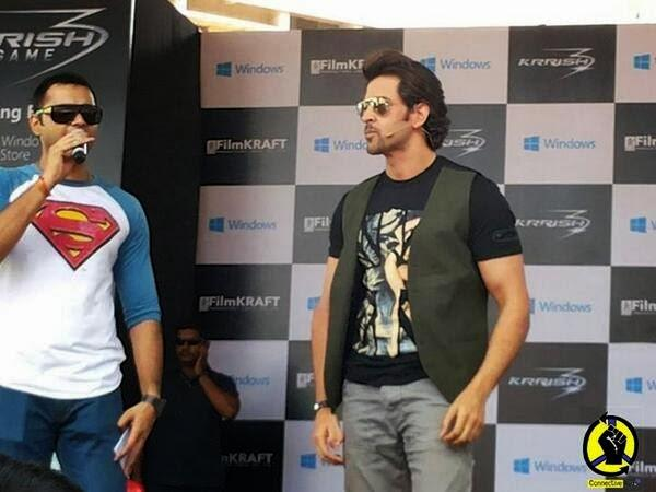 Hrithik Roshan Krrish 3 Game Launch In Bangalore