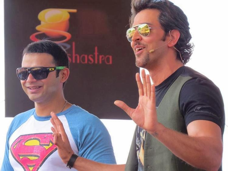 Roshan On Monday Launched A Windows 8 Game Based On The Movie Krrish 3