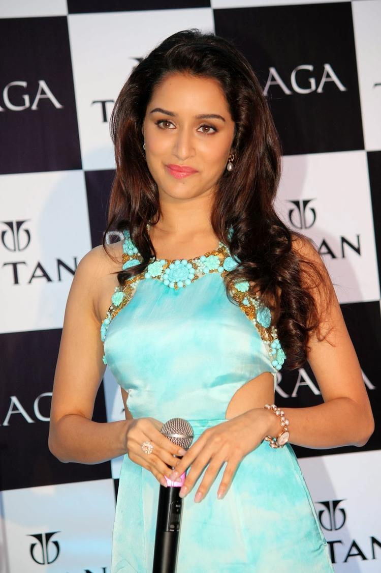 Shraddha Kapoor Graced At Titan Raga's New Pearl Collection Launch Event