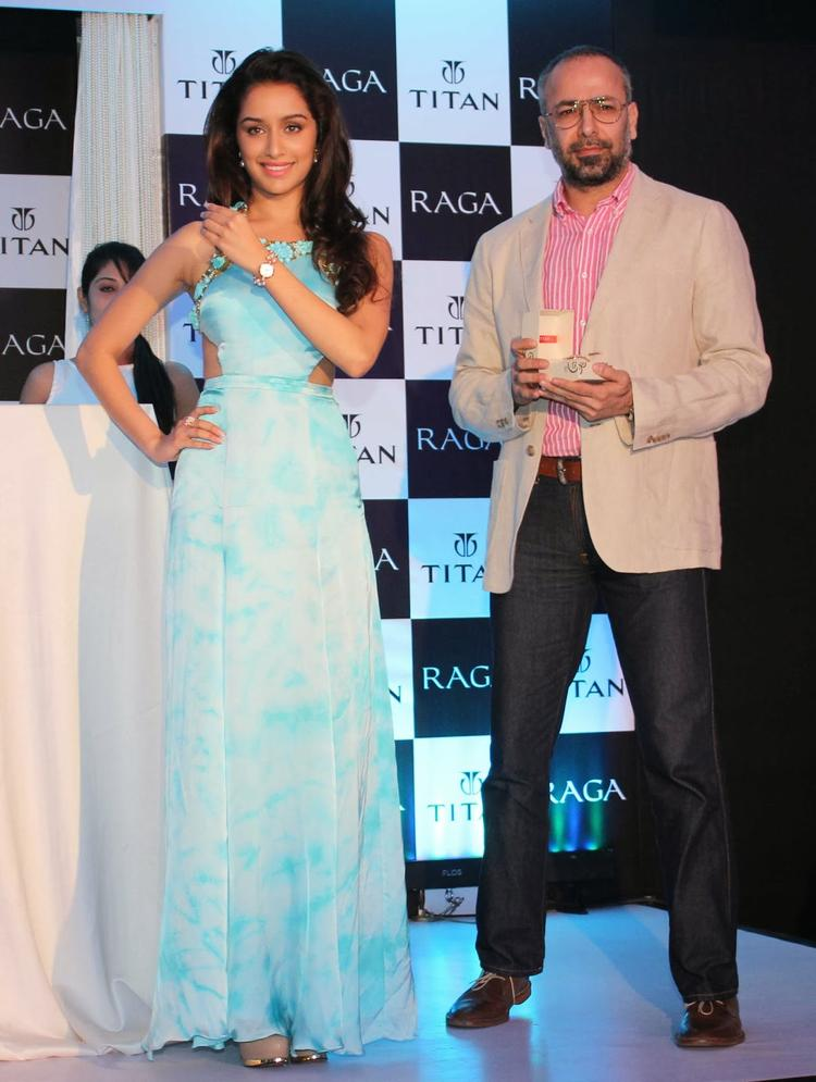 Shraddha Kapoor Unveils The Exquisite Raga Pearls Collection Of Watches