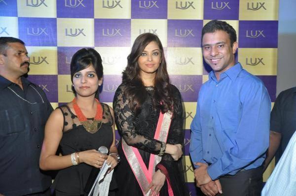 Aishwarya Rai Bachchan At A Lux Event In Delhi Launch Photo