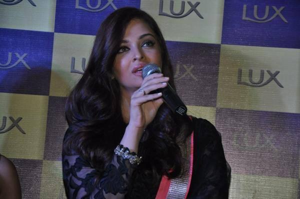 Aishwarya Rai Bachchan At A Lux Event In Delhi