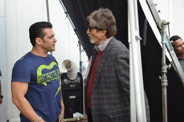 Amitabh Bachchan And Salman Khan's Unexpected Rendezvous
