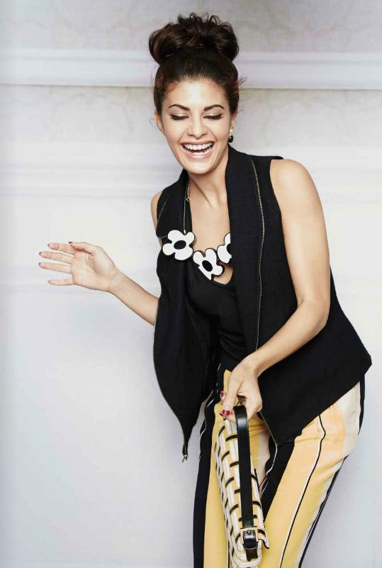 Beauty Queen Jacqueline L'Officiel - October Magazine Sweet Pic