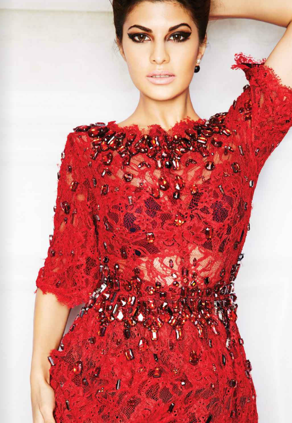 Jacqueline Fernandez L'Officiel Magazine October 2013 PhotoShoot