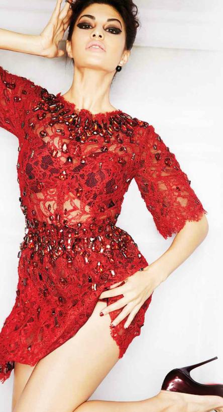 Jacqueline L'Officiel - October Magazine Hottest Photo Shoot