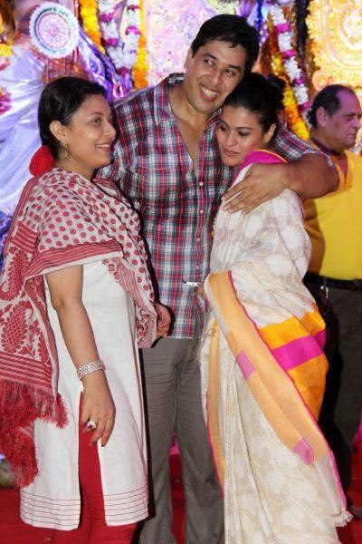 Kajol Attended Her Family's Yearly Durga Puja Celebrations