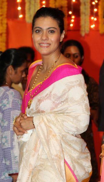 Kajol Celebrated The Durga Puja Festivities In Mumbai