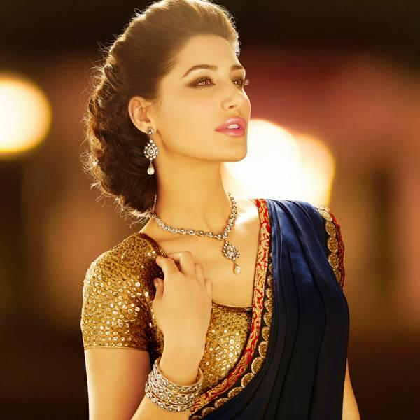 Nargis Fakhri D'Damas Jewellery Hot And Pretty Look Photo Shoot