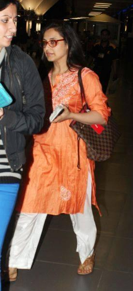 Rani Arrived In Mumbai Airport After Wrapping Up The Temptation Reloaded Concert Tour In New Zealand And Australia