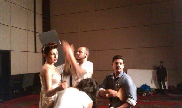 Priyanka Chopra's Shoot In Pune With Famous Make-Up Artist, Daniel Bauer For A Print Campaign