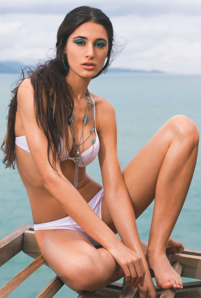 Nargis Fakhri Bikini Hot Still For The Man Magazine October 2013