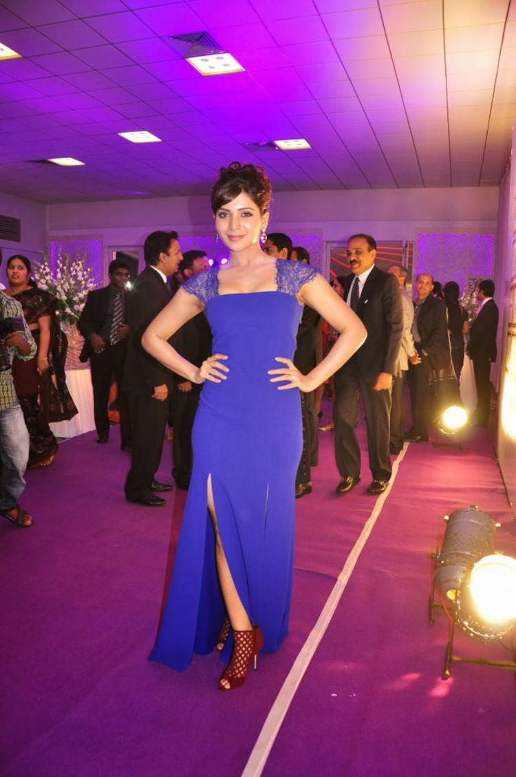 Gorgeous Samantha Snapped At Food For Change Charity Event