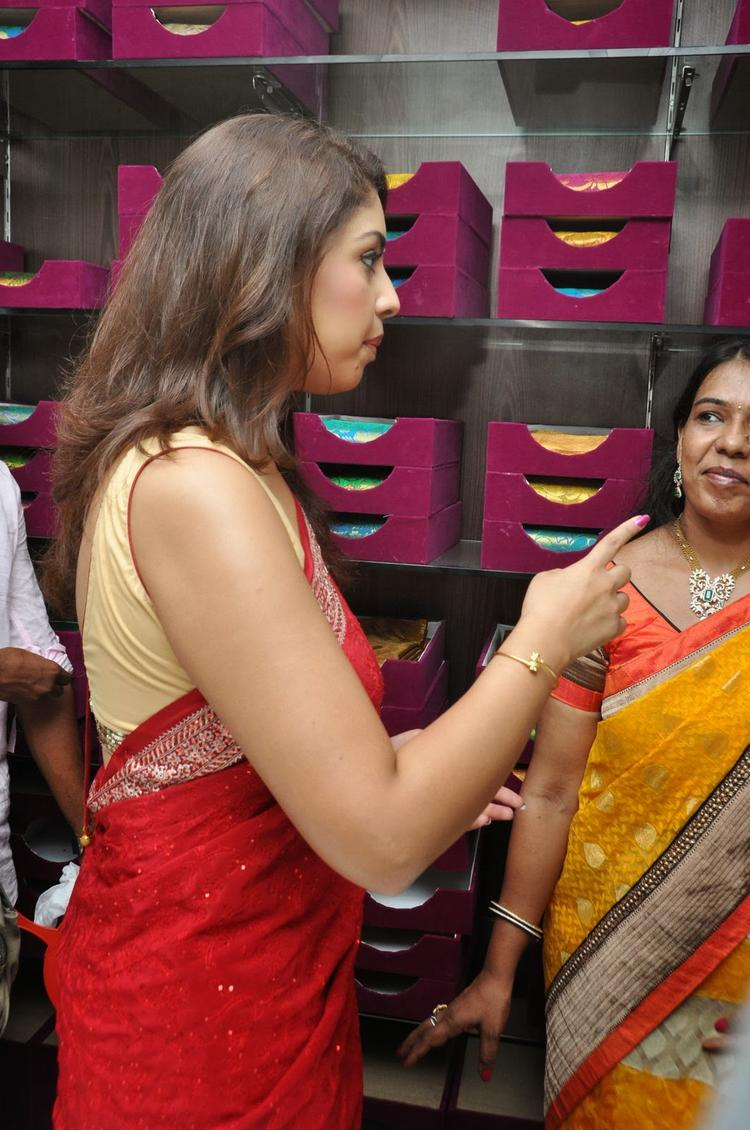Richa Gangopadhyay During The Priyanka Stores Opening Event