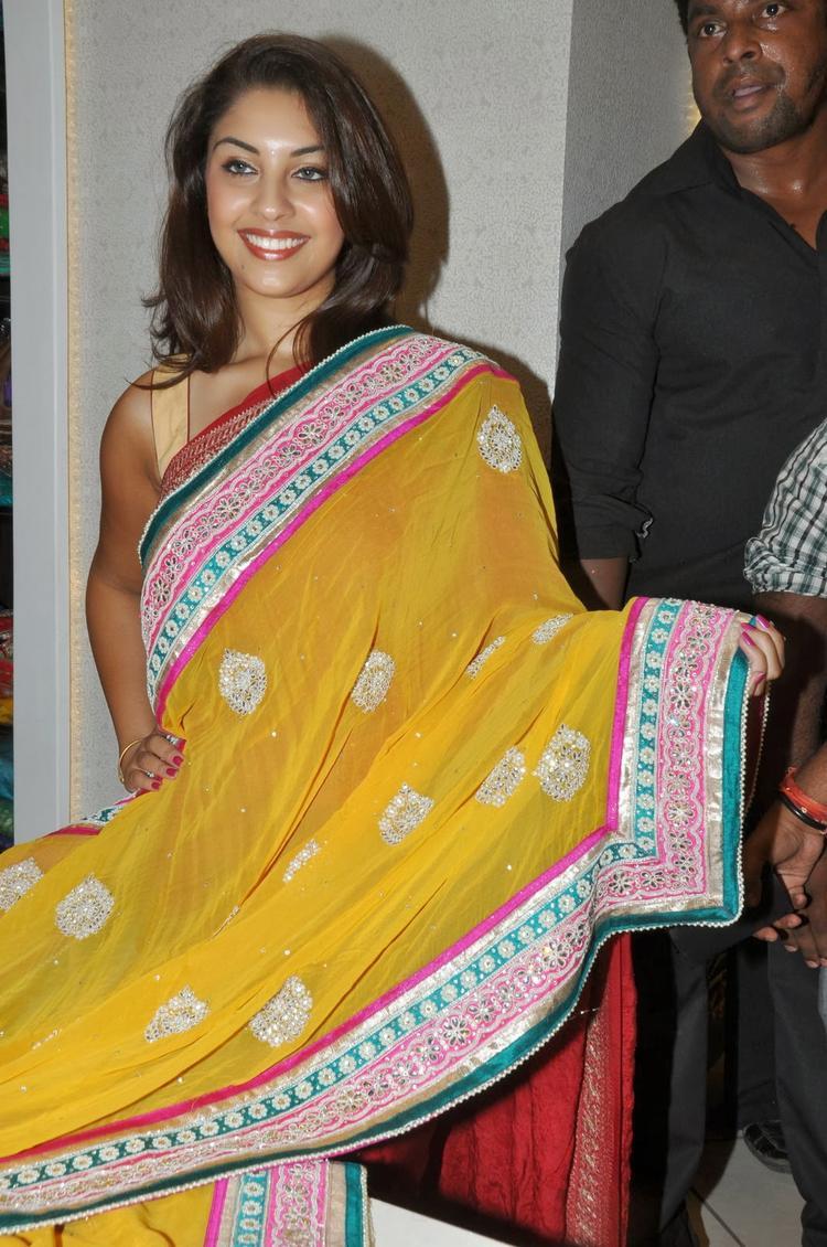 Richa Gangopadhyay Priyanka Stores Opening Event Saree Launch Pic