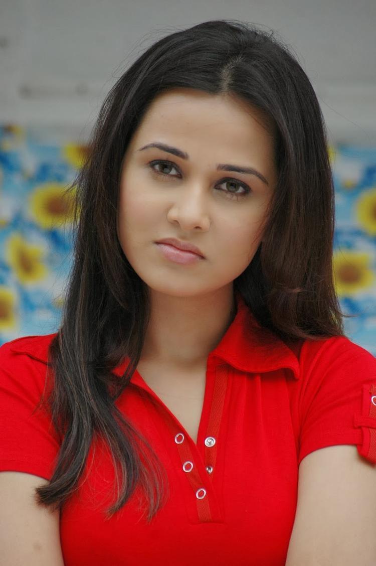 Nisha Kothari Cute Angry Look Sweet Still
