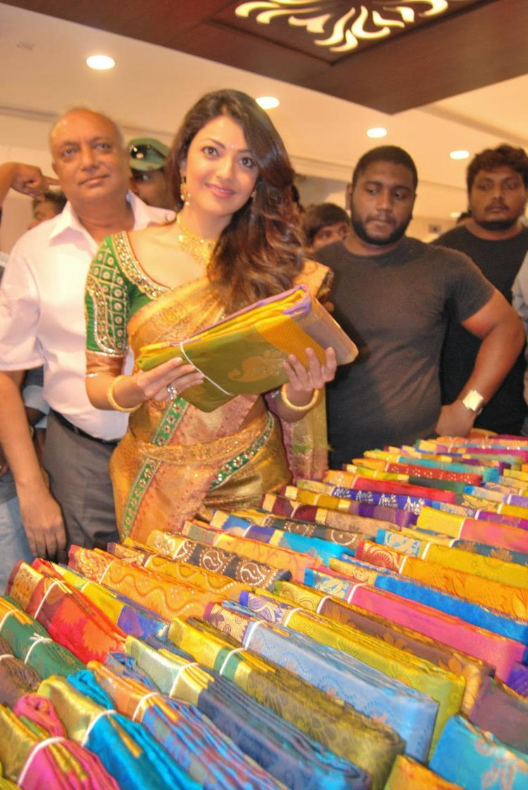Kajal Aggarwal Launches Chennai Shopping Mall