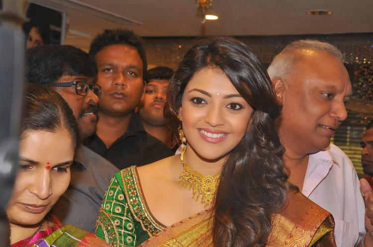 Kajal Aggarwal Looking So Beautiful In The Saree