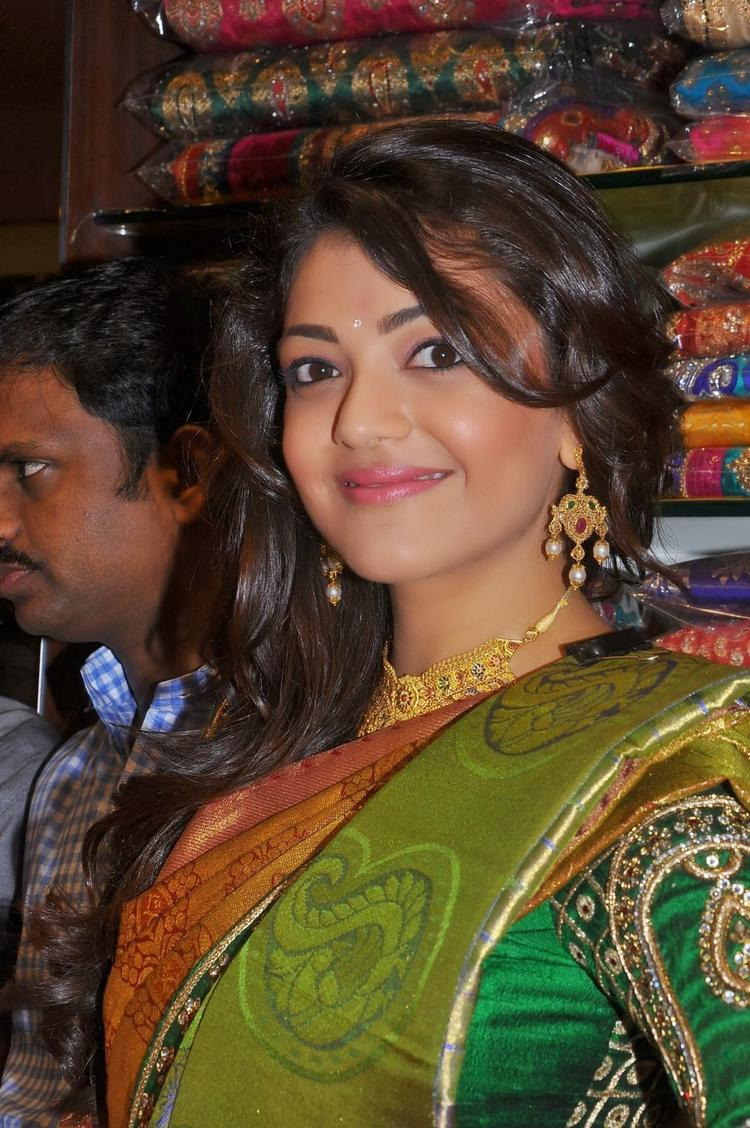 Kajal Launches The Chennai Shopping Mall at Hyderabad