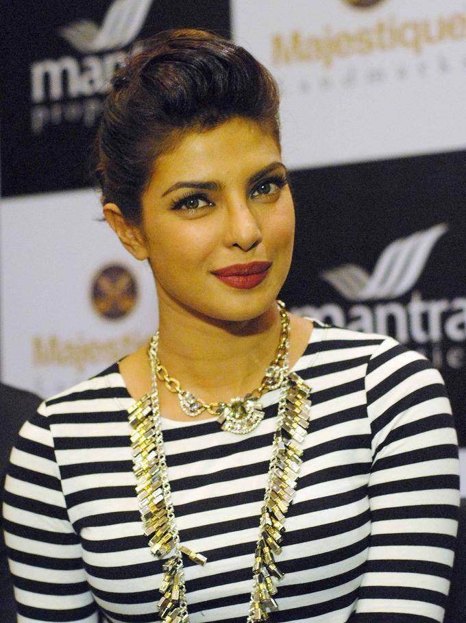 Gorgeous Priyanka Chopra During The Launch Event Of Mantra Properties Project