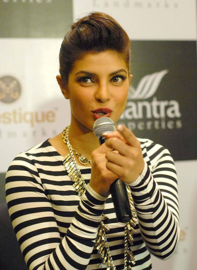 Style Icon Priyanka ChopraLaunch Event Of Mantra Properties Project