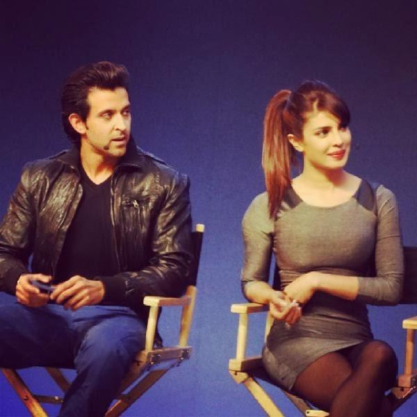 Hrithik And Priyanka The Promotion Of Krrish 3 At An Apple Store In London