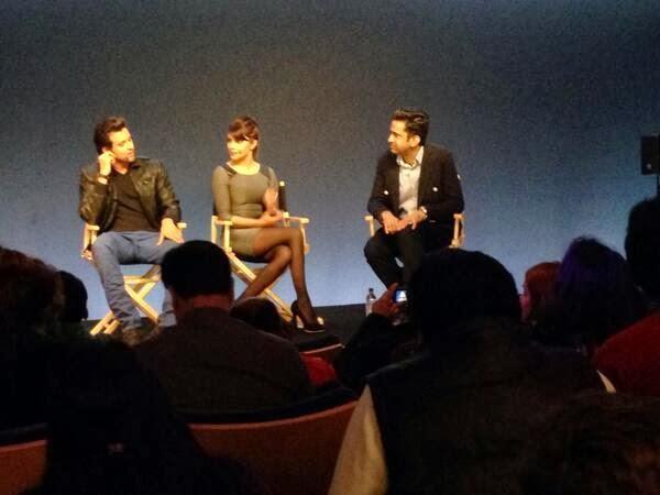 Hrithik Roshan And Priyanka Chopra Promote Krrish 3 At An Apple Store In London