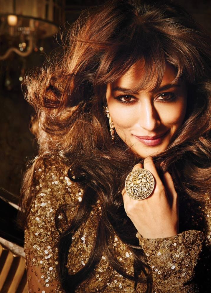 Chitrangada Beautiful Smiling Pose For Filmfare Magazine October 2013