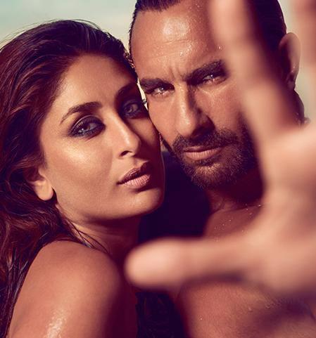 Saif And Kareena Smoky Eyes Look Photo Shoot For Harper's Bazaar