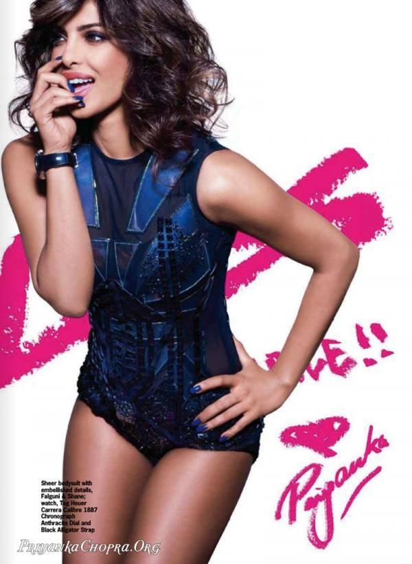 Priyanka Chopra Exclusive Hot Look For Cosmopolitan October 2013 Issue