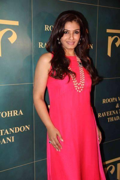 Raveena Tandon Launches Her Jewellery Line In Mumbai