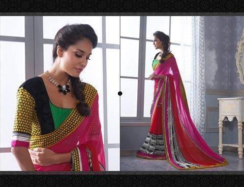 Lisa Haydon Looks Amazing In This Outfit For Indian New Designed Saree