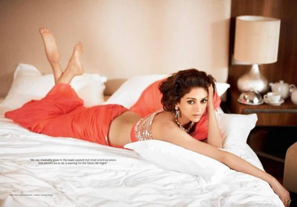 Aditi Rao Hydari Spicy And Romantic Look Photoshoot For Filmfare's Bridal Issue