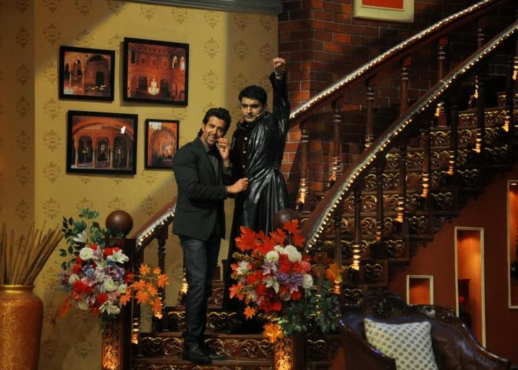 Kapil Sharma Turned Krrish On Comedy Nights With Kapil For Krrish 3 Promotion