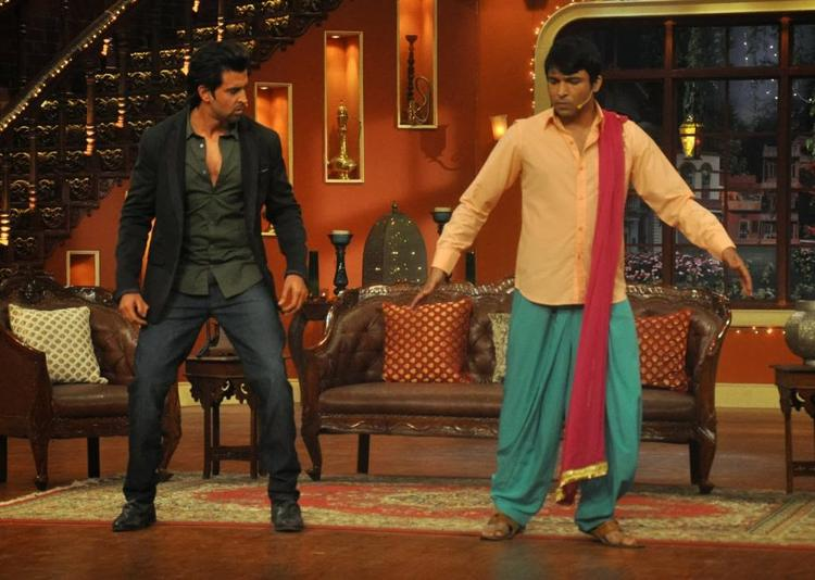 Hrithik Roshan Recently Visited Kapil Sharma On The Sets Of His TV Show