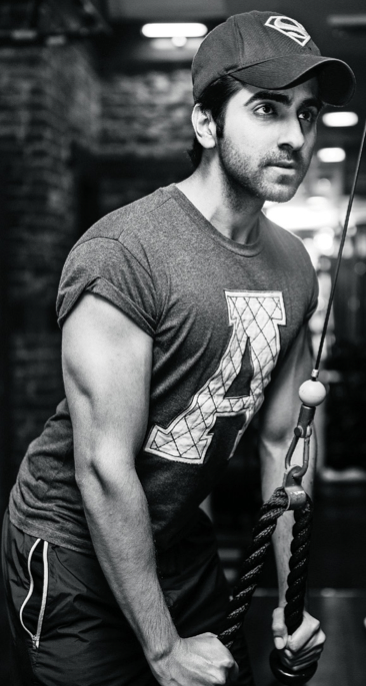 Ayushmann Khurrana Photo Shoot In Gym For Filmfare November 2013