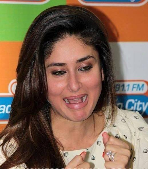 Kareena Very Cute Face Look Still During The Promotion Of GTPM At 91.1 FM