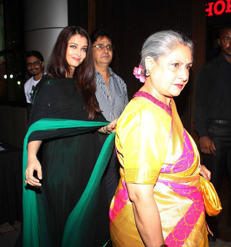Aishwarya And Jaya Snapped At Rehana Ghai's B'day Bash