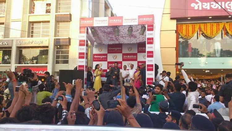 Hrithik Roshan Spotted At Ahmedabad For Joyalukkas Showroom Launch