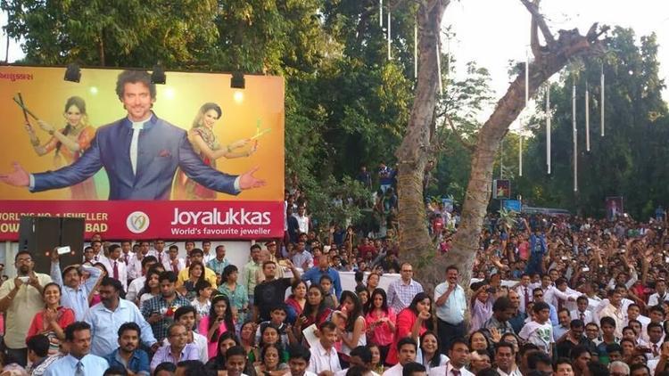 Hrithik Roshan's Krrish 3 Promotion In Ahmedabad