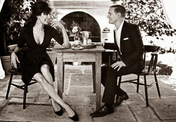 Priyanka Chopra And Bryan Adams Cool Look Shoot For Guess! New Ad Campaign