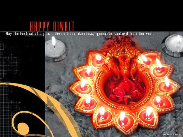 Deepavali Festival 2013 Beautiful Wallpaper