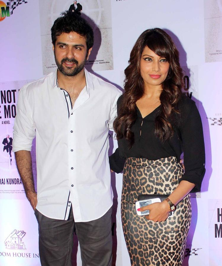 Bipasha And Harman Snapped At Raj Kundra's Book's Success Bash