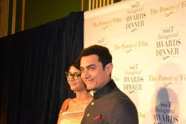 Aamir Spotted With Wife Kiran Gets US Honour For Tackling Social Issues