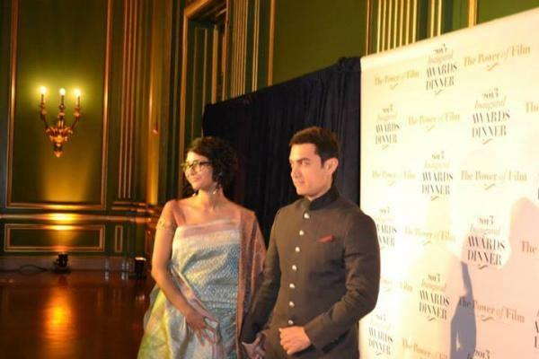 Aamir With Wife Kiran Rao Gets US Honour For Tackling Social Issues
