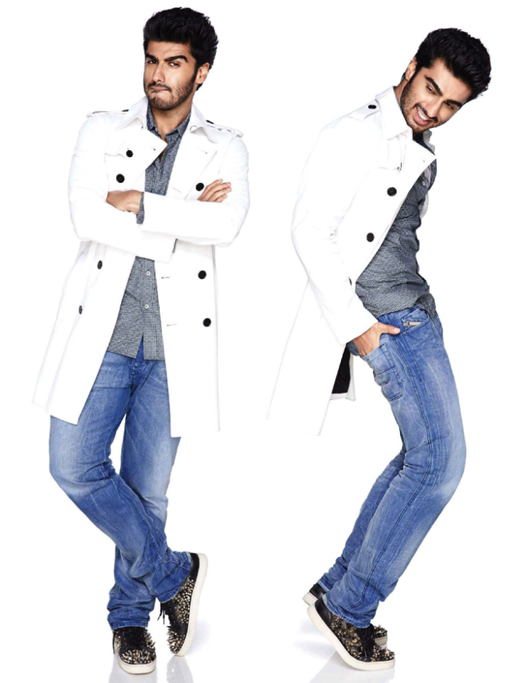 Arjun Kapoor Latest Stylist Photo Shoot For Vogue Nov 2013 Issue