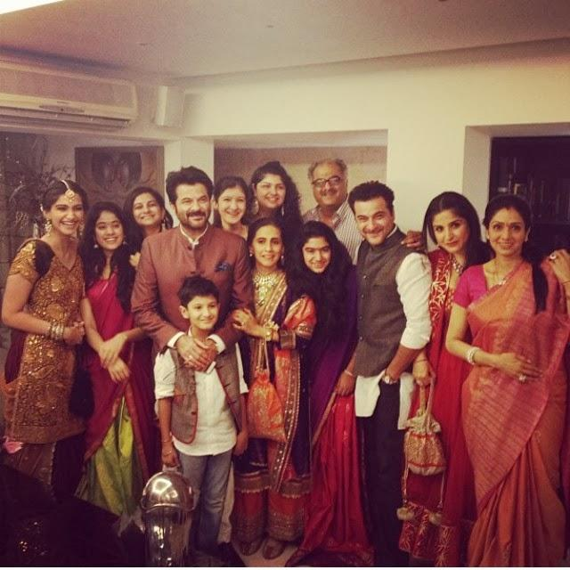 The Kapoor Family Celebrates Diwali Together