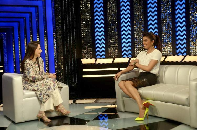 Priyanka Chopra On The Sets Of The Front Row Show With Anupama Chopra