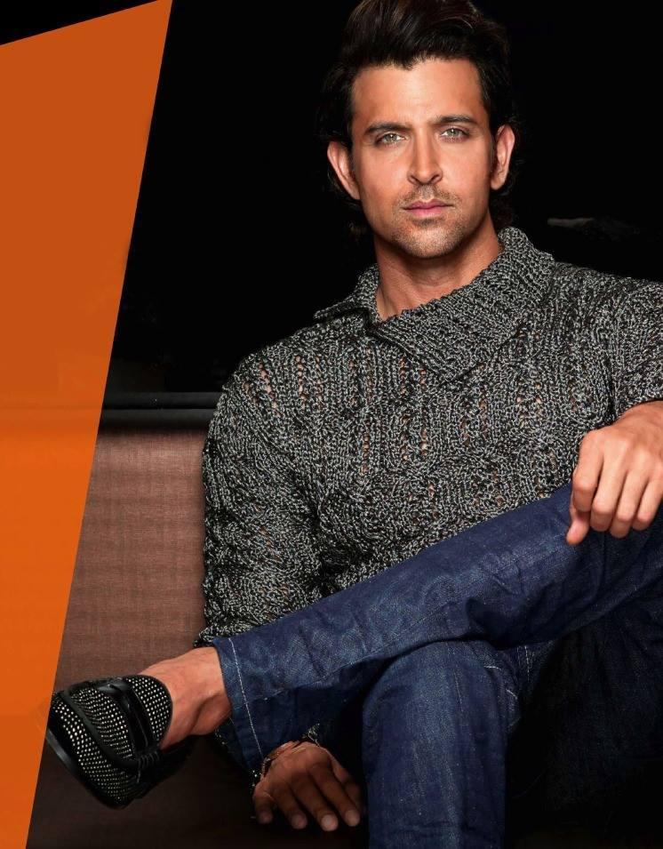 Hrithik Roshan Fresh And Stylist Look Photo Shoot For GQ India 2013 Issue